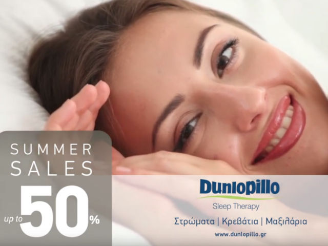 Dunlopillo TVC 2018