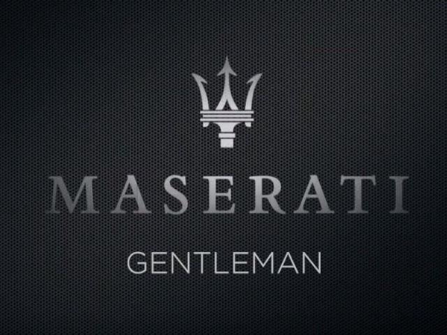 maserati gentleman ad